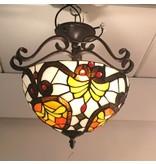 RoMaLux 7661 tiffany plafondlamp