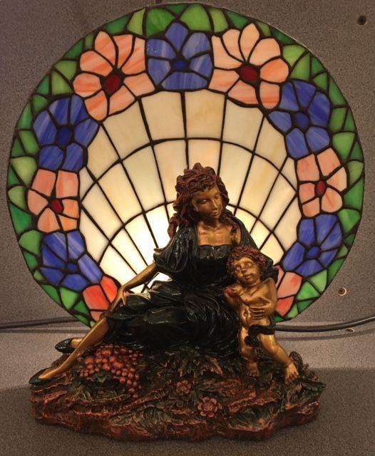 RoMaLux 4246 Tiffany tafellamp