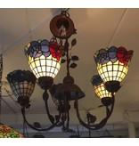 RoMaLux 7463 Hanglamp Tiffany