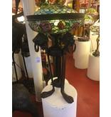 Demmerik 73 5521 Bronze tafel/vloerlamp met leeuwekop