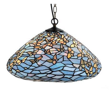 7859 Tiffany Hanglamp Fly Away met vlinders