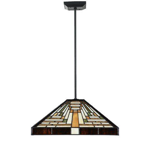 82538156 Tiffany Hanglamp Pendel 4k. model Rising Sun
