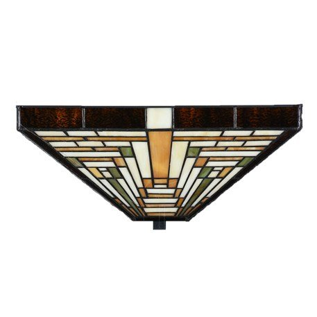 8253/7898 Plafonnière Rising Sun Art Deco stijl