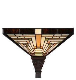 7881 Tiffany Vloerlamp Rising Sun