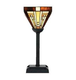 8252/8133 Tiffany Tafellampje omhoog Rising Sun