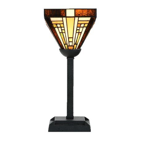 8252/8133 Tiffany Tafellampje Rising Sun omhoog