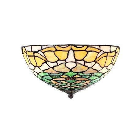 8125 PW Tiffany Plafonnière Campanula Art Nouveau stijl