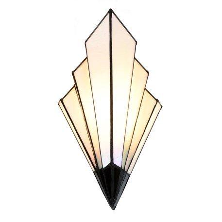 7870 Tiffany wand lamp model French art Deco stijl