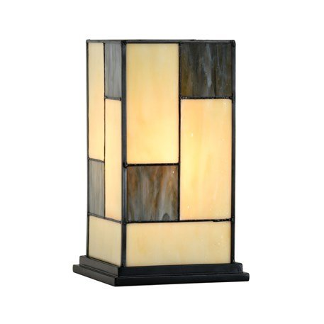 8132 Windlicht Tiffany Mondriaan stijl