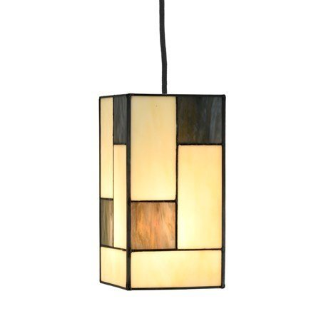 3.81318130 Tiffany Hanglamp 3 lichts Mondriaan