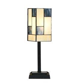 81318133 Tiffany Tafellampje Mondriaan