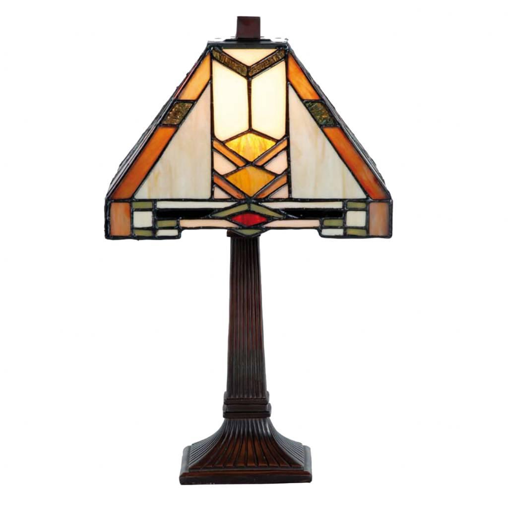 9928 Tiffany Tafellampje Art deco Stijl