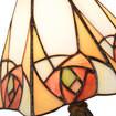 5200 Tiffany tafellampje met roosjes
