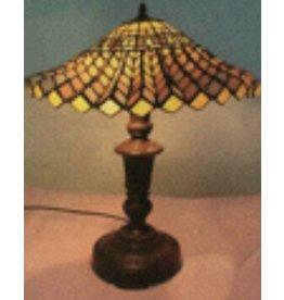 RoMaLux RML 7219 Tiffany Tafellamp