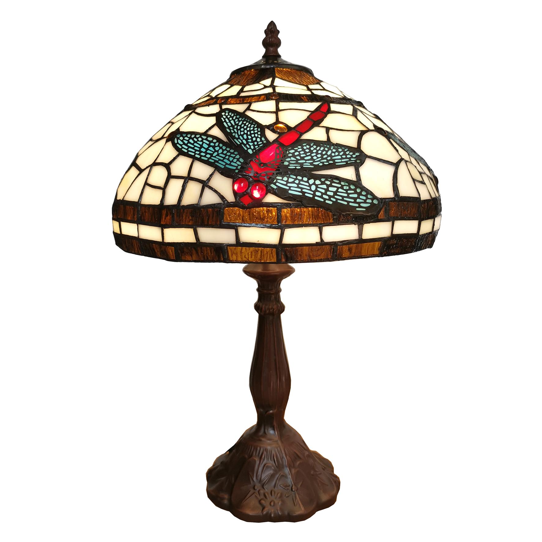 L 6023 Tiffany Tafellamp Libelle