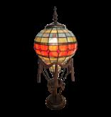 L 6016 Tiffany Tafellamp Luchtballon