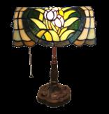 L 6013 Tiffany Bureaulamp