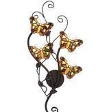RoMaLux L5979  Wand lamp Vlinder