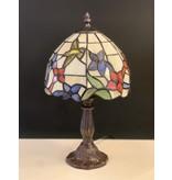 RoMaLux D10091 Tiffany Tafellampje