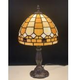 RoMaLux D10092 Tiffany Tafellampje