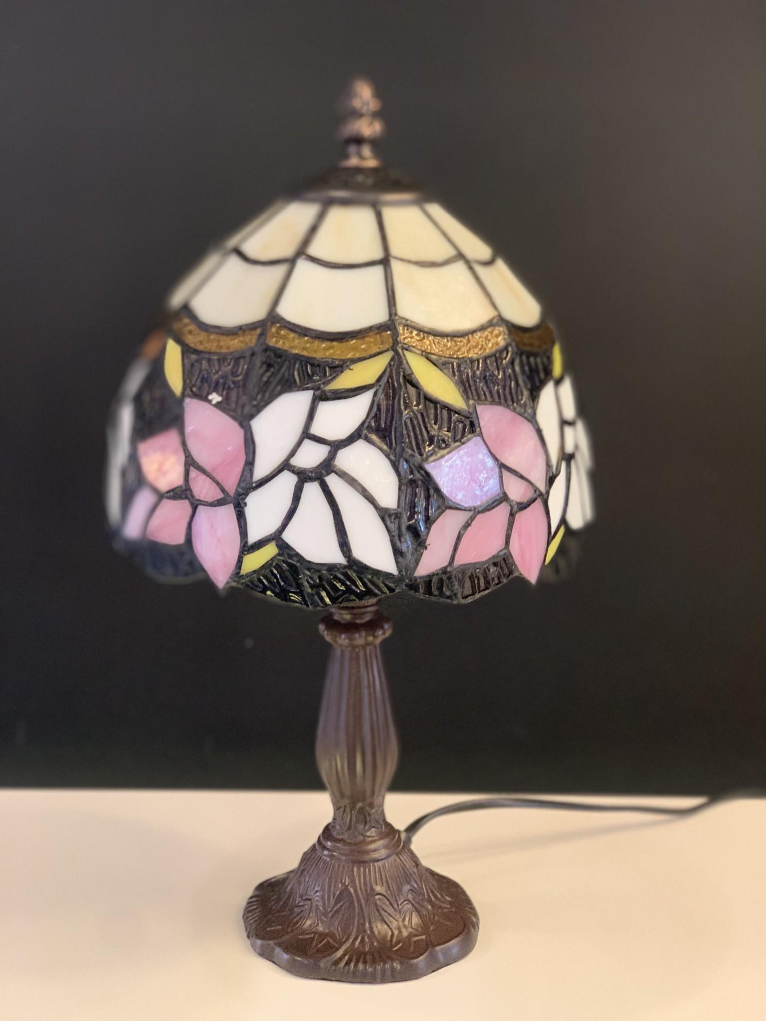 RoMaLux D10093 Tiffany Tafellampje