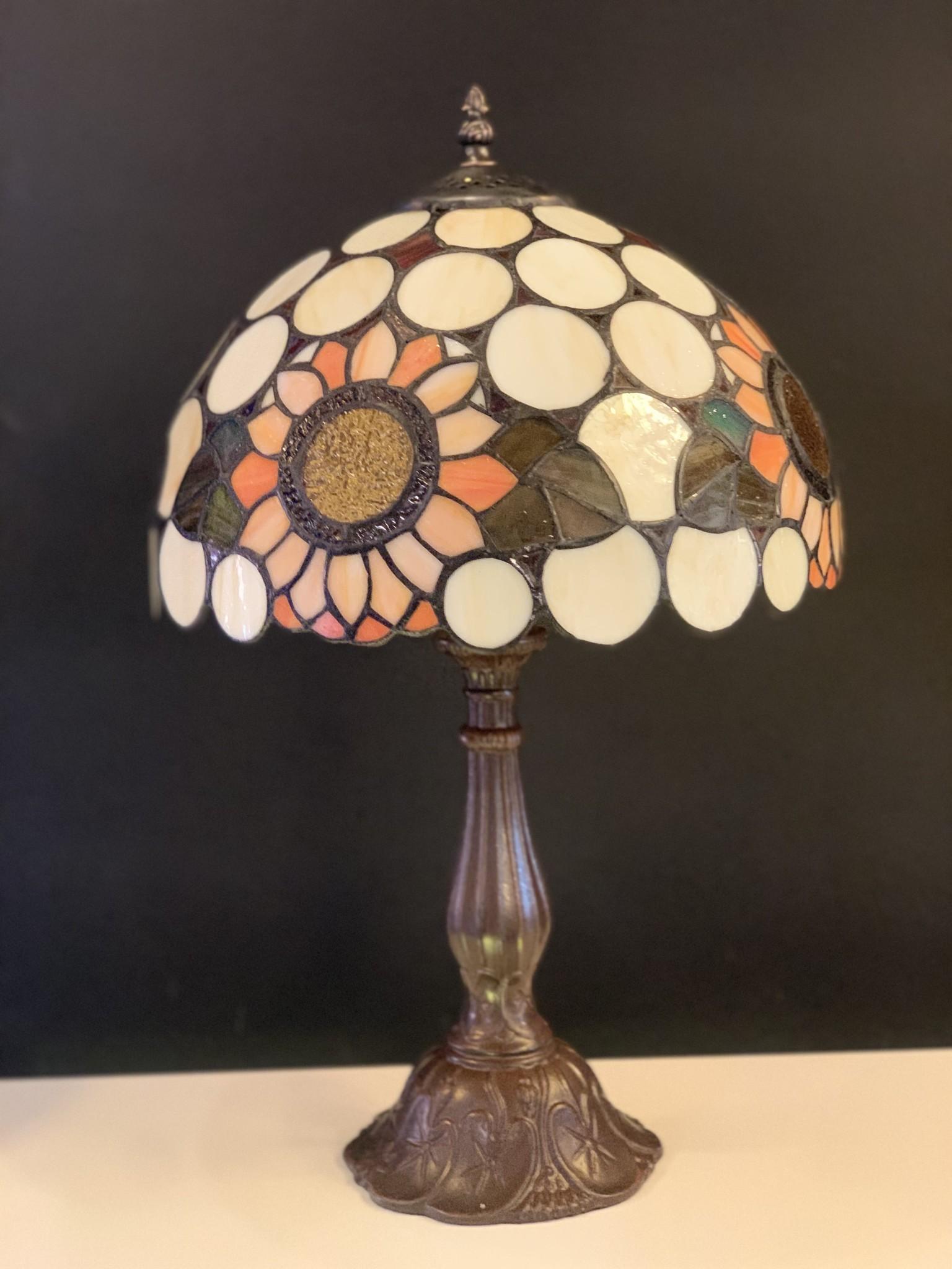 RoMaLux D 10020 Tiffany Tafellamp