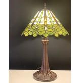 RoMaLux D 10040  Tiffany Tafellamp