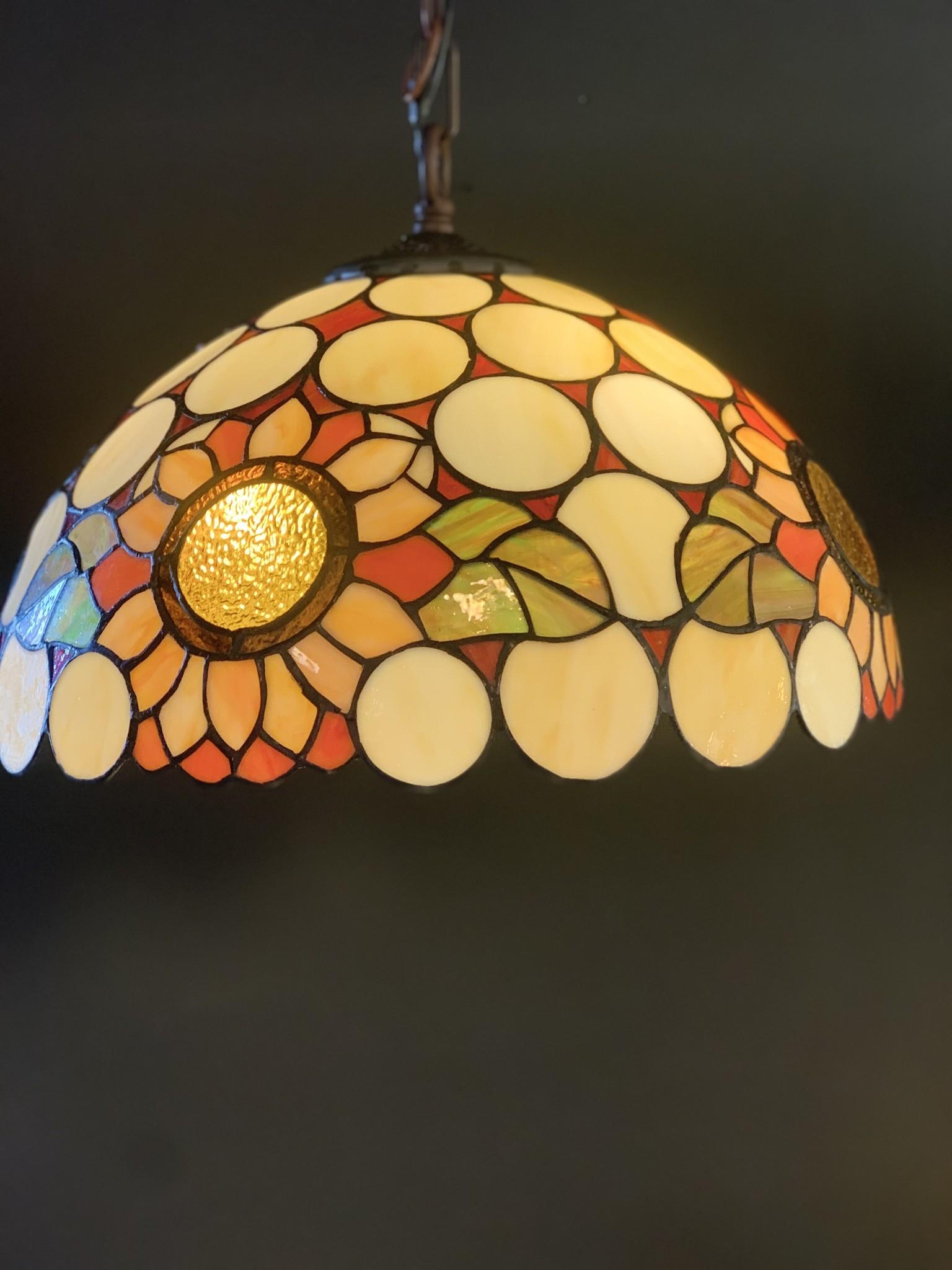 RoMaLux D10022 Tiffany Hanglamp