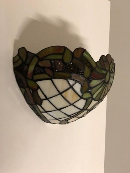 RoMaLux D10011 Tiffany Wandlamp