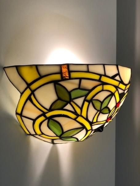 RoMaLux D10030 Tiffany Wandlamp