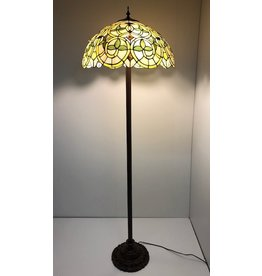 RoMaLux D10032 Tiffany Vloerlamp