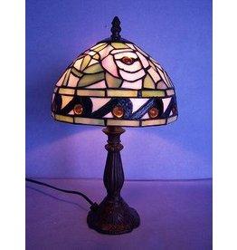 RoMaLux RML- 7609 Tiffany Tafellamp