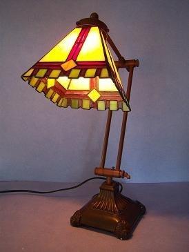 RoMaLux Tiffany Bureaulamp