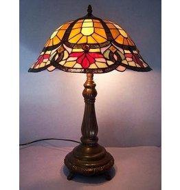RoMaLux RML- 7559 Tiffany Tafellamp