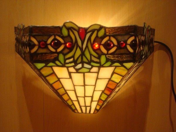 RoMaLux Tiffany Wandverlichting