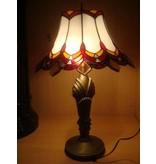 RoMaLux Tifffany Tafellamp