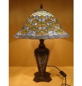 RoMaLux RML- 5894 Tiffany Tafellamp
