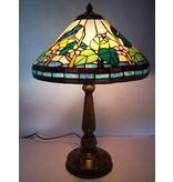 RoMaLux Tiffany Tafellamp