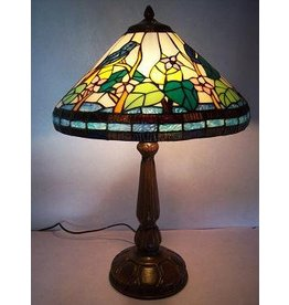 RoMaLux RML- 5627 Tiffany Tafellamp