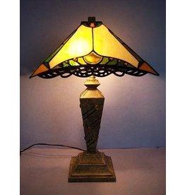 RoMaLux RML- 7565 Tiffany Tafellamp