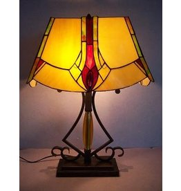 RoMaLux RML- 7566 Tiffany Tafellamp