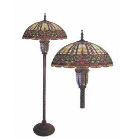 RoMaLux RML- 7629 Tiffany Vloerlamp