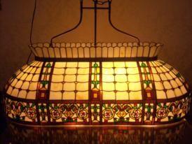 RoMaLux Tiffany biljartlamp