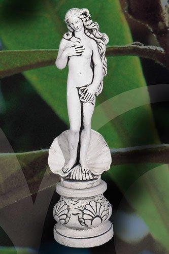 Demmerik 73 F015 Beeld vrouw op schelp + voet