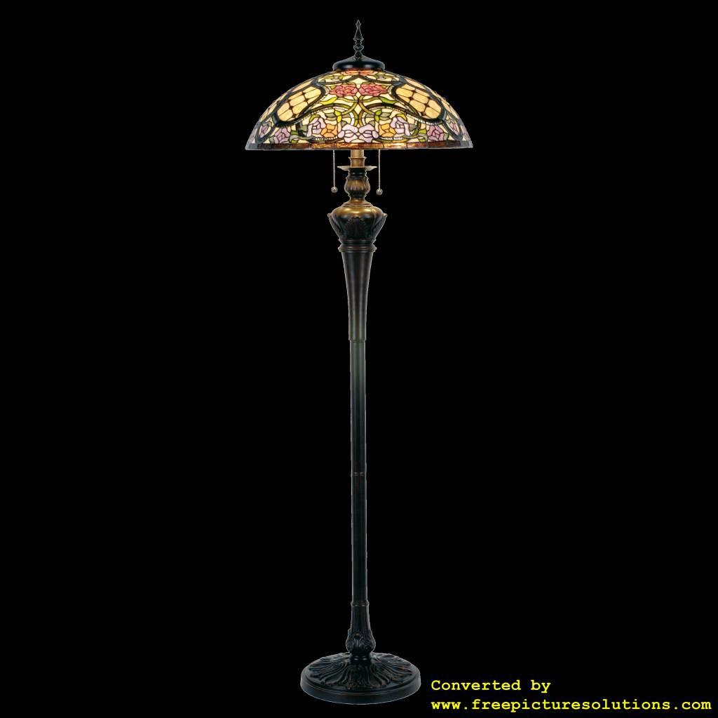 Demmerik 73 5437 Tiffany vloer  lamp