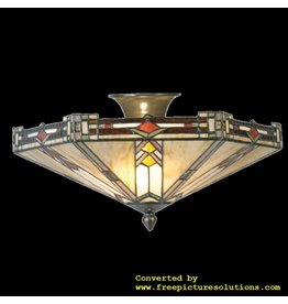 Demmerik 73 5420 Tiffany plafond  lamp