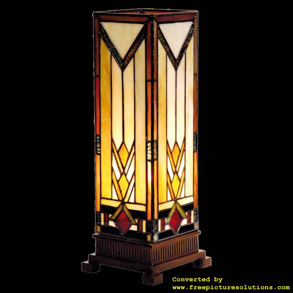 Demmerik 73 9331 Tiffany Tafel lamp