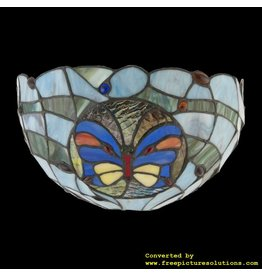 Demmerik 73 9957 Tiffany wand lamp