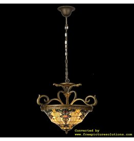 Demmerik 73 5551 Tiffany hang  lamp