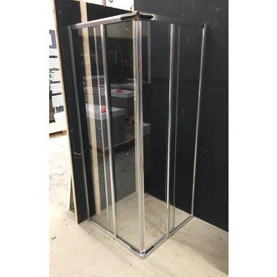 Sanitairstunthal Douchecabine 80-90x185 cm hoekinstap